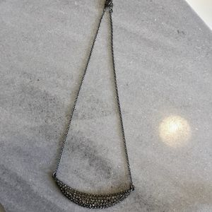 Forever 21 moon necklace